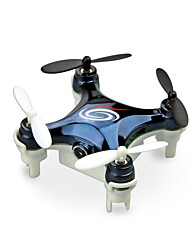 cheap -RC Drone WLtoys RC101W 4CH 6 Axis 2.4G With HD Camera 0.3MP RC Quadcopter LED Lights / One Key To Auto-Return / Failsafe RC Quadcopter / Remote Controller / Transmmitter / USB Cable / Headless Mode