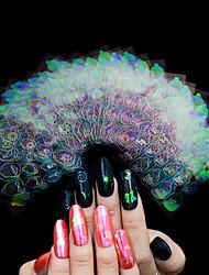 Недорогие -Стикер искусства ногтя Наклейки Стикер макияж Косметические Ногтевой дизайн