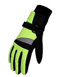 cheap -Ski Mittens Winter Gloves Children's Keep Warm Waterproof Printable Polyester Skiing Ski / Snowboard Climbing Winter