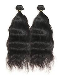 baratos -4 pacotes Cabelo Peruviano Ondulado Natural Cabelo Remy Cabelo Humano Ondulado Tramas de cabelo humano Extensões de cabelo humano