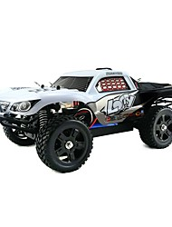 cheap -RC Car HUANQI 734A 2.4G 4WD High Speed Drift Car Racing Car Off Road Car Car Buggy (Off-road) Brushless Electric 20 KM/H Remote Control /
