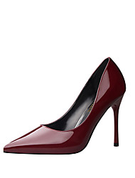 cheap -Women's Heels Fall Heels / Pointed Toe  Dress Stiletto Heel Black / Brown / Red / White / Silver / Rose Gold /