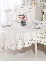 cheap -Oval Table cloths Material Home Decoration 1