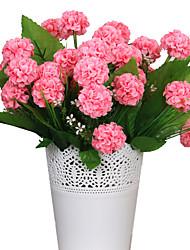 baratos -2 Ramo Seda Outras Hortênsia Flor de Mesa Flores artificiais