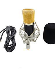 baratos -KEBTYVOR BM700 Com Fio Microfone Conjuntos Microfone Condensador Microfone Portátil Para PC