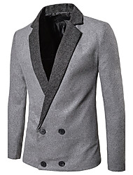 Men's Daily Wear Daily Vintage Spring Fall Blazer
