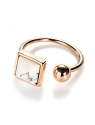cheap -Women's Cuff Ring Fashion Korean Alloy Circle Geometric Jewelry For Other Daily