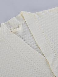 baratos -Estilo fresco Robe de Banho, Sólido Qualidade superior 100% algodão Tecido Simples Toalha