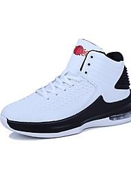 Obuv PU Zima Podzim Pohodlné Atletické boty pro Sportovní Ležérní Bílá Černá Červená