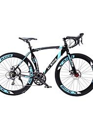 Racercykler Cykling 16 Speed 26 tommer (ca. 66cm)/700CC Shimano Dobbelt skivebremse Affjedringsgaffel Bageste ophængsstang PVC Aluminium