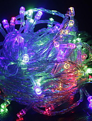 Christmas lights indoor outdoor decoration 10M 100 leds Led String Lights US EU AU plug fairy Lights