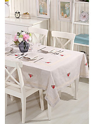 Heart Table cloths Material Decorate wedding scene 1