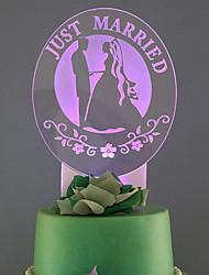 Cake Topper Wedding Illuminated Plastic Wedding 53 1 Gift Box