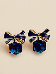 cheap -Women's Stud Earrings Crystal Sweet Elegant Crystal Alloy Geometric Jewelry For Party Gift