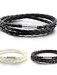 cheap -Men's Women's Wrap Bracelet Leather Jewelry For Daily