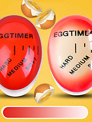 economico -1pc cambiamento di colore cambia timer uovo per cucinare perfettamente morbido e hard bollito uova timer gadget cucina creativa