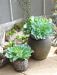 Недорогие -1 Филиал Другое Недвижимость сенсорный Другое Pастений Букеты на стол Искусственные Цветы