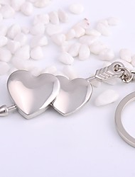 cheap -Keychain Jewelry Silver Irregular Alloy Basic Heart Daily Valentine Men's Women's