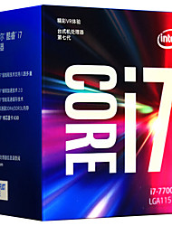 abordables -Intel Processeur informatique CPU core i7 I7-7700 4 Cores 8 LGA 1151