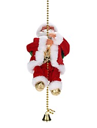 cheap -Christmas Decorations Christmas Gifts Christmas Toys Toys Santa Suits Holiday Holiday Fashion Soft Plastic Braided Fabric Children's