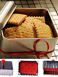 cheap -1PC Classical Shape Cookie Mold Stainless Steel Spring Press Fondant Cutters Cupcake Decoration Tool
