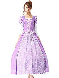preiswerte -Prinzessin Sofia Göttin Kleid Cosplay Kostüme Damen Weihnachten Halloween Karneval Oktoberfest Fest / Feiertage Halloween Kostüme Violett