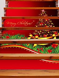 Jul Romantik Landskab Vægklistermærker Taske Fly vægklistermærker 3D mur klistermærker Dekorative Mur Klistermærker Bryllups klistermærker