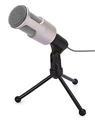 Недорогие -SF960 Проводное Микрофон Микрофон Конденсаторный микрофон Ручной микрофон Назначение Компьютерный микрофон
