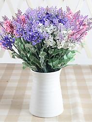 cheap -30cm 5 Pcs 10 Head/branch lavender 3 colors Home Decoration Artificial Flowers