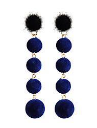 abordables -Mujer Pendientes cortos / Pendientes colgantes - Negro / Verde / Azul Para Regalo / Diario