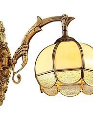 cheap -Wall Light Uplight Wall Sconces 5W 220-240V 110-120V E26/E27 Rustic/Lodge Retro/Vintage Brass