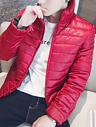 Women's Regular Padded Coat,Casual Active Daily To-Go Solid-Polyester Long Sleeves