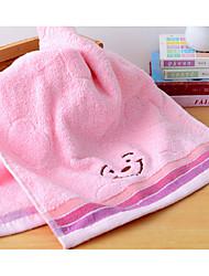 Недорогие -Свежий стиль Полотенца для мытья,Однотонный Высшее качество Чистый хлопок Полотенце