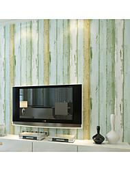 abordables -Fibra de Madera Fondo de pantalla Para el hogar Clásico Revestimiento de pared , Tela no tejida Material adhesiva requerida papel pintado