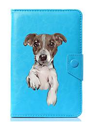 economico -Custodia universale per custodia in pelle di cane per 7 pollici, 8 pollici, 9 pollici, tablet pc da 10 pollici