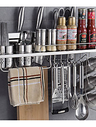economico -1pc Organizzatori Flatware Acciaio inossidabile Facile da usare Organizzazione della cucina