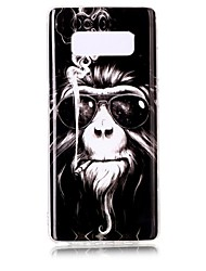 economico -Custodia Per Note 8 Fantasia/disegno Custodia posteriore Animali Morbido TPU per Note 8 Note 5 Edge Note 5 Note 4 Note 3 Lite Note 3 Note