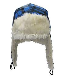 Недорогие -Лыжная шапочка Лыжи Шапочки Универсальные Теплый Дожденепроницаемый Удобный Сноуборд Полиэстер Имитация кашемир Шахматка Катание на лыжах