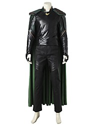 preiswerte -Superheld Cosplay Cosplay Kostüme Kostüm Film Cosplay Grau & Schwarz Weste Top Hosen Armreif Handschuhe Umhang Mehre Accessoires