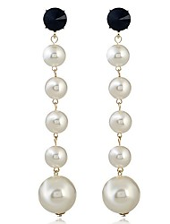 cheap -Women's Drop Earrings Imitation Pearl Fashion Alloy Geometric Jewelry For Party Work