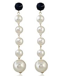Women's Drop Earrings Imitation Pearl Fashion Alloy Geometric Jewelry For Party Work