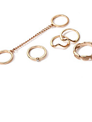 cheap -Women's Knuckle Ring Metallic Fashion Alloy Circle Jewelry For Other Daily