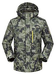 cheap -Men's Ski Jacket Thermal / Warm Windproof Skiing Ski/Snowboarding Polyester