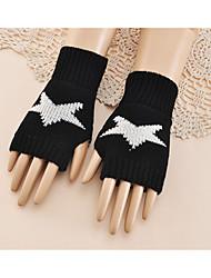 cheap -Women's Casual Wrist Length Half Finger - Galaxy
