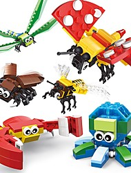 Building Blocks Toys Animals Animals Insect Animal Kids Adults' Boys' 301 Pieces