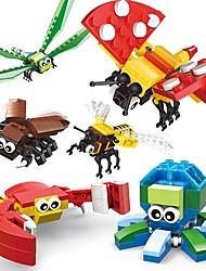 Недорогие -SHIBIAO Конструкторы Игрушки Животные Животные Насекомое Животный принт Взрослые Мальчики 301 Куски