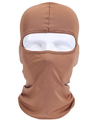 cheap -Balaclava All Seasons Windproof Comfortable Sunscreen Dustproof Outdoor Exercise Cycling / Bike Mountaineering Unisex Milk Fiber Solid