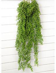 Недорогие -1 Филиал Пластик Pастений Цветы на стену Искусственные Цветы