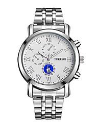 Dámské Módní hodinky Náramkové hodinky čínština Křemenný Voděodolné Nerez Kapela Na běžné nošení Stříbro