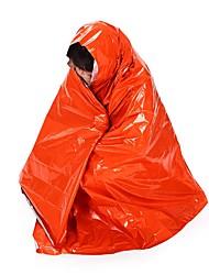 Недорогие -Чрезвычайная Одеяло Прямоугольный 26°C Теплоизолированные сохраняющий тепло 210 Отдых и Туризм Путешествия Односпальный комплект (Ш 150 x